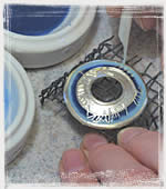 Enamelling at Sheila Fleet Jewellery